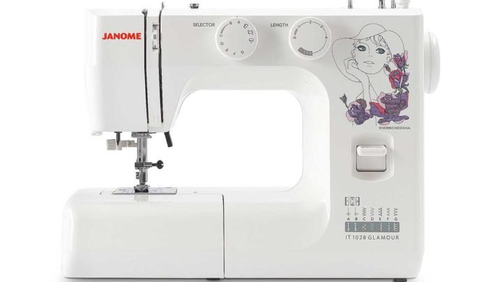 Janome IT 1028 Glamour in offerta solo a Marzo 2020
