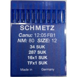 Aghi Schmetz 34/287 SUK mis. 80