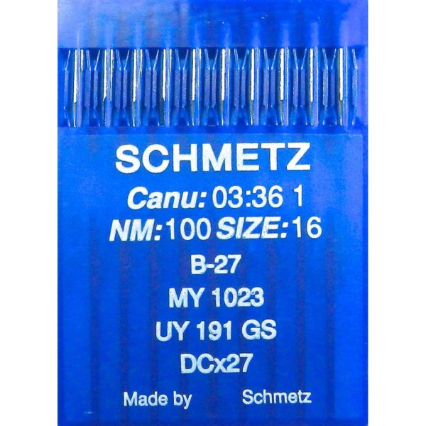 Aghi Schmetz B-27 mis. 100