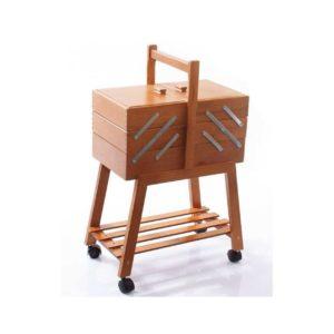 cestino-portalavori legno