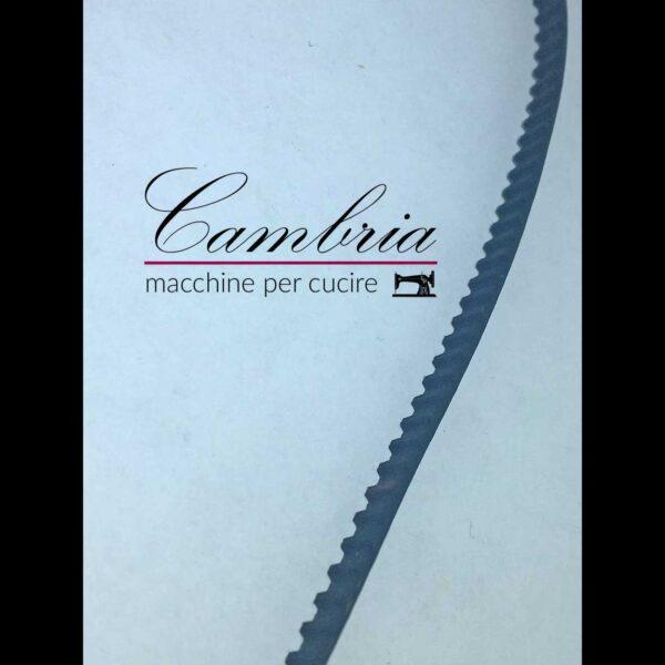 CINGHIA MOTORE 154XXL ( 154 DENTI, INTERASSE TRA I DENTI 3,175 MM ) PER MACCHINA PER CUCIRE JANOME