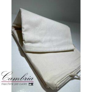 Telo in puro cotone originale Pfaff per rulli. 85 cm